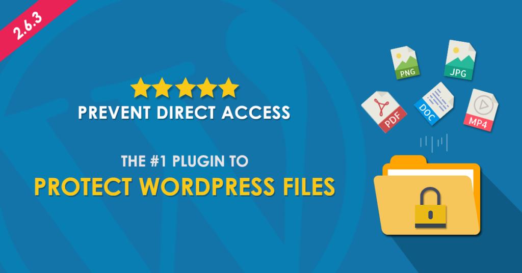 #1 Plugin to Protect WordPress Files