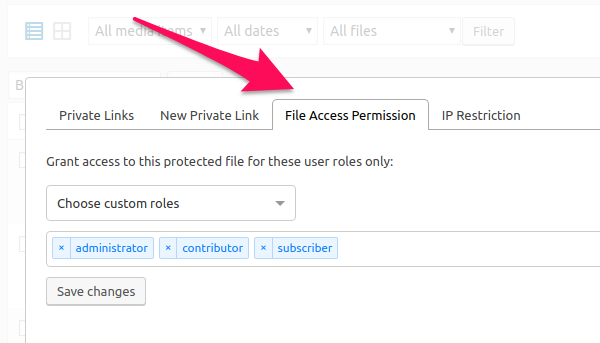 Top File Access Permission Priority