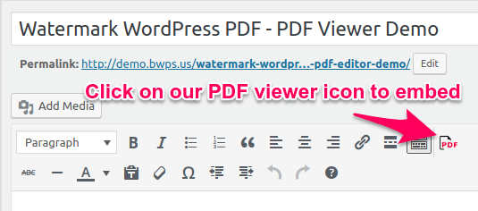 Watermark WordPress Files - Prevent Direct Access