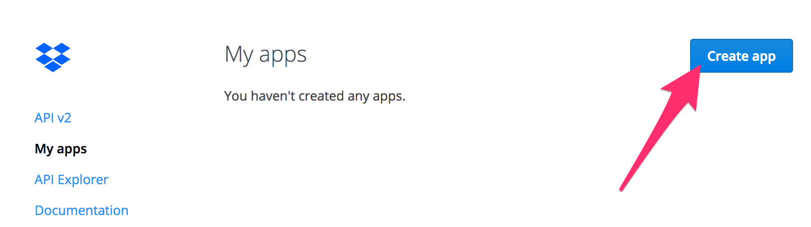 How to create App Key & Access Token for Your Dropbox