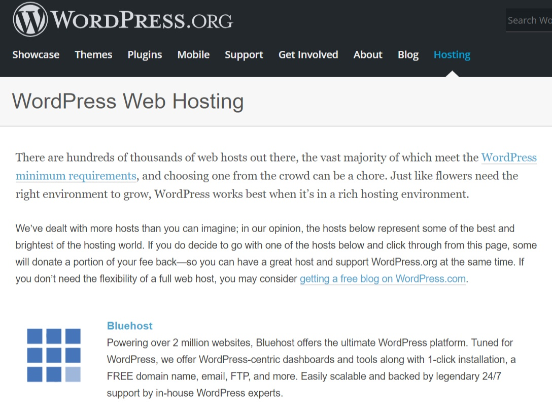 Wordpress_Bluehost