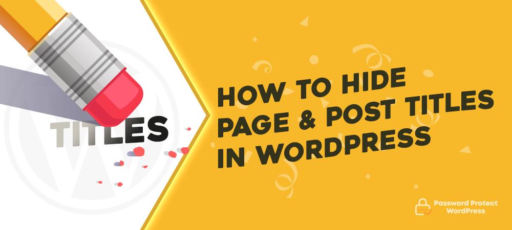 pda-hide-wordpress-page-titles