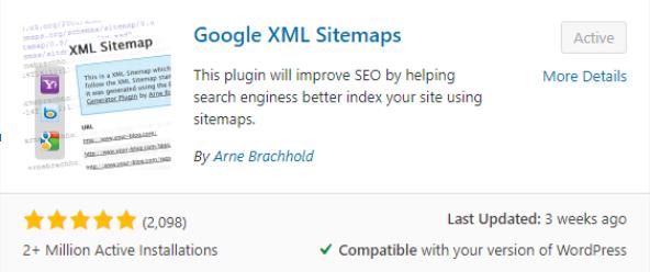 pda-google-XML-sitemap