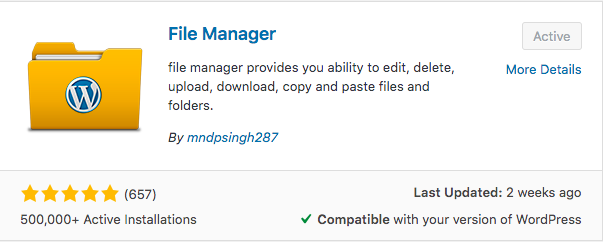 pda-wp-file-manager