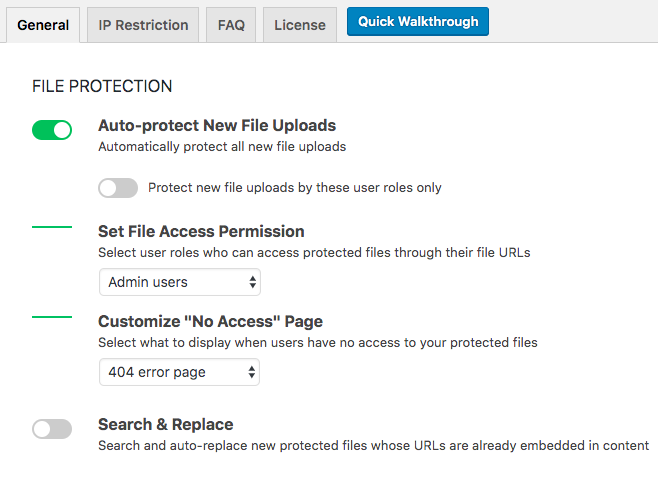 pda-file-protection-settings