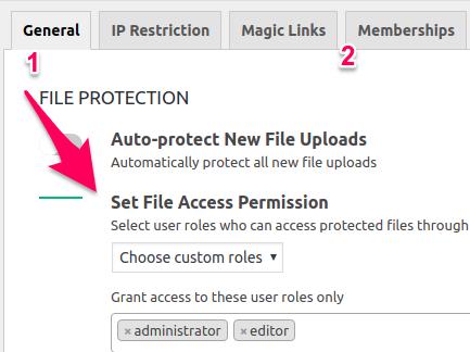 file access permission