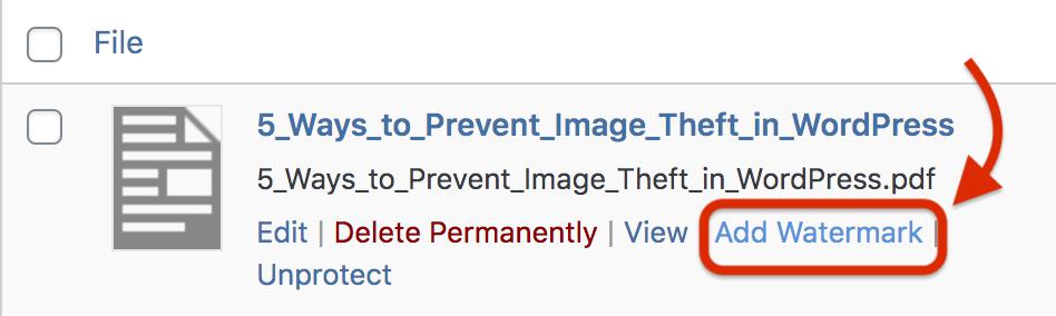 add watermark to pdf files