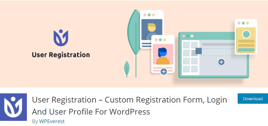 WordPress Front-end File Upload User Registration