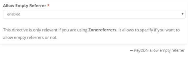 allow empty referrer