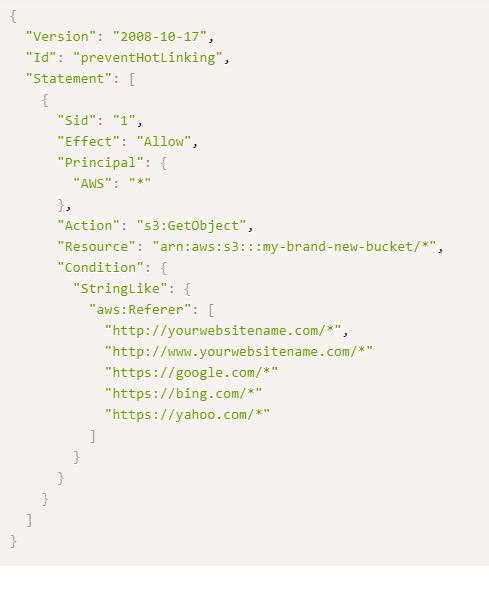 add code prevent hotlinking
