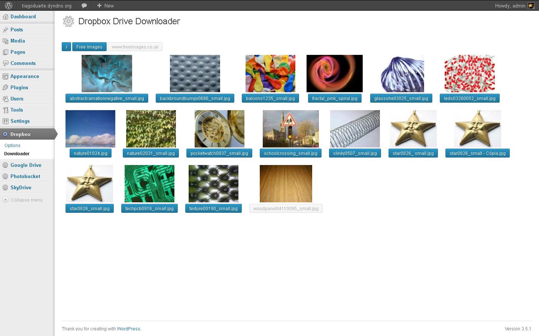 Dropbox drive downloader