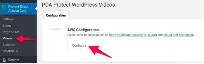 pda-aws-configuration-videos