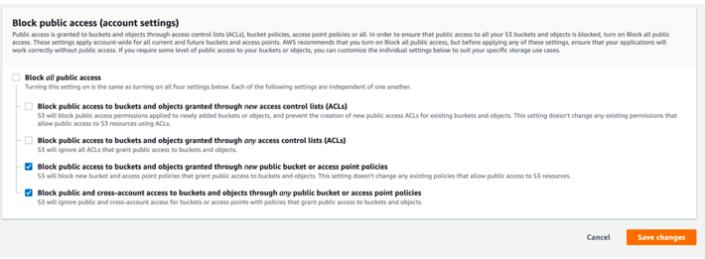 pda-block-public access