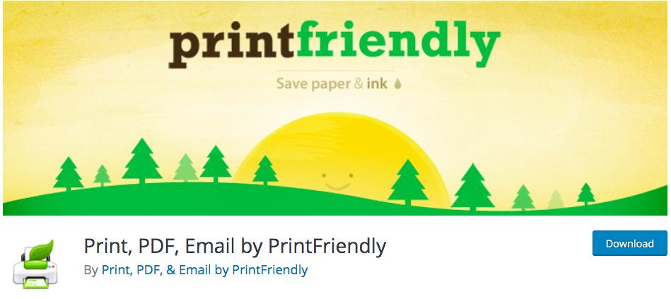 pda-PrintFriendly and PDF Button
