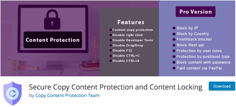 pda-secure-content-copy-protection