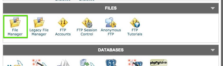 pda-cpanel-files-manager