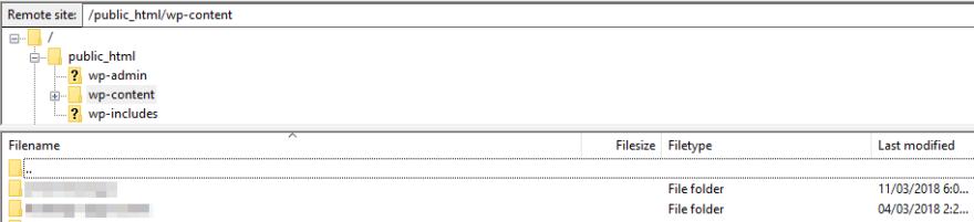wp-content-folder-ftp