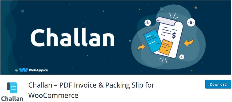 woodommerce pdf invoices & packing slips